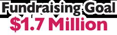 Fundraising Goal - One Million Dollars