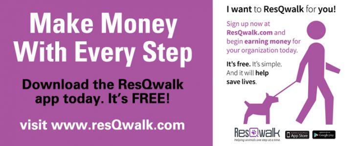 Res Q walk banner